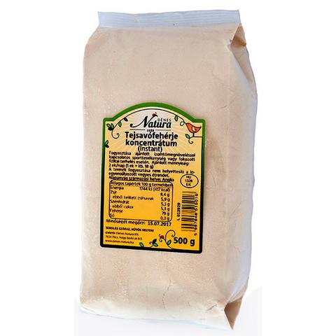 Tejsavófehérje koncentrátum 500 g (Dénes Natura tejsavó fehérje)