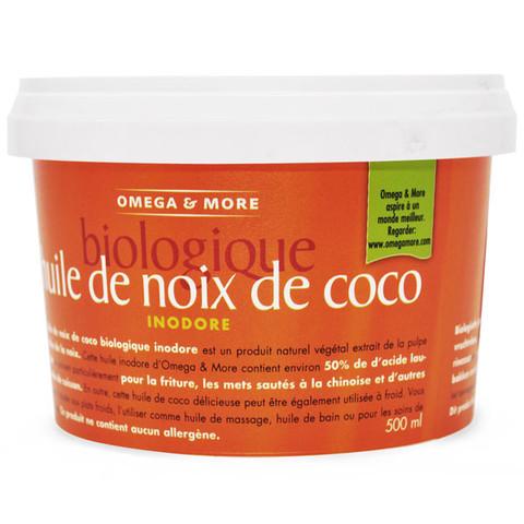 Bio Szűrt kókuszzsír - kókuszolaj 500ml (450g)