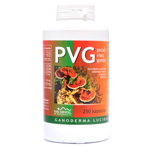 Vita Crystal PVG Pecsétviaszgomba kapszula 250 db