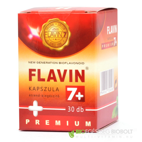 Flavin 7+ Prémium kapszula 30db