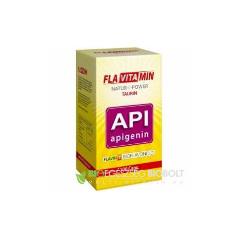 Flavitamin Nature+Power Apigenin kapszula 100 db