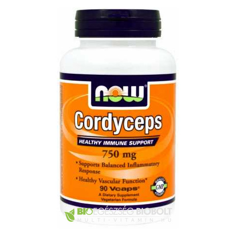Cordyceps 750 mg 90 db (NOW)