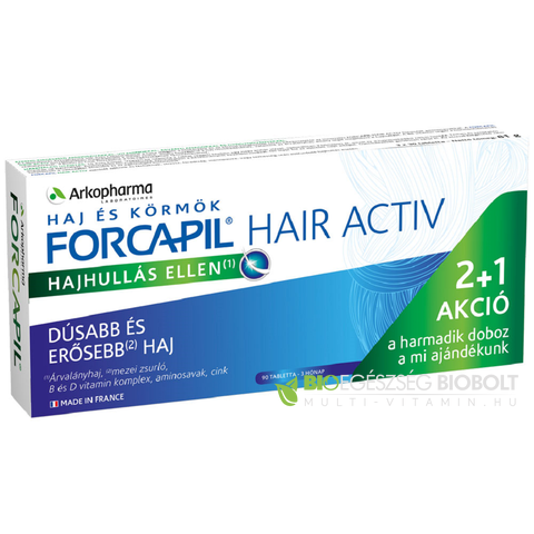 Forcapil Hair Activ tabletta 90 db