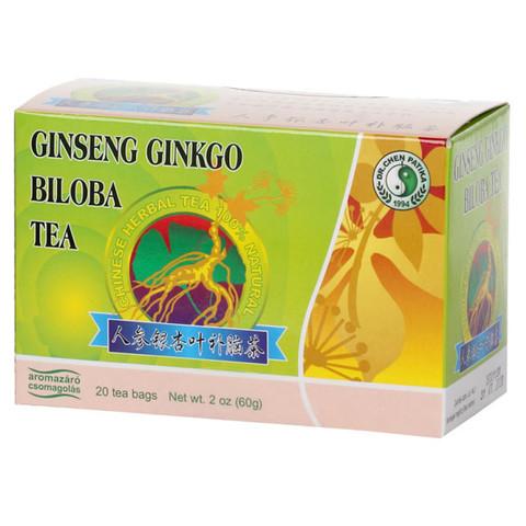 Ginseng-Ginkgo-Zöld teafilter 20 db (Dr.Chen)