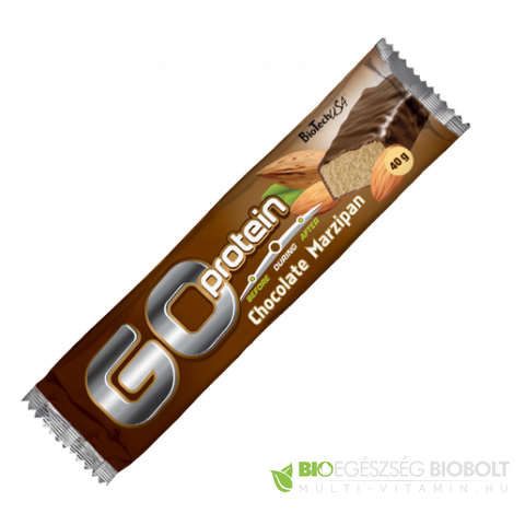 Go Protein Bar 40 g Csoki-Marcipán BioTech USA