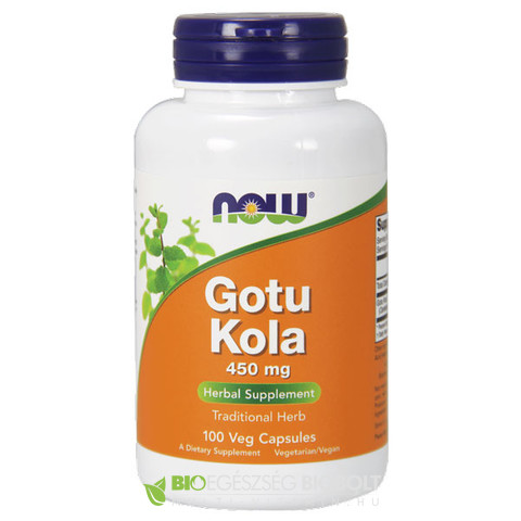 NOW Gotu Kola 100db 450mg