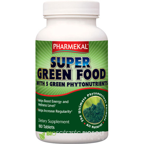 NV Super green Food Alga komplex 180db (Ph)