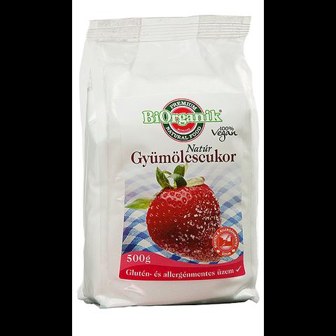 Gyümölcscukor fruktóz 500 g (Naturganik)