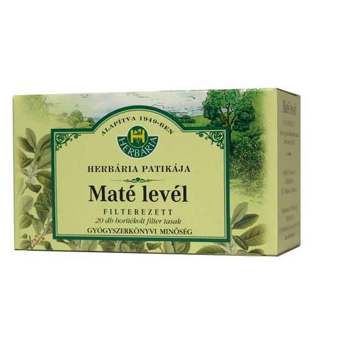Herbária Maté levél teafilter 20 db