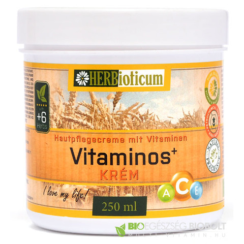 Herbioticum Vitaminos+ krém 250ml