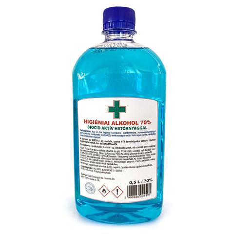 Higiéniai alkohol 70% 500ml