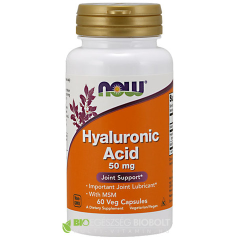 Now Hyaluronic acid 60db