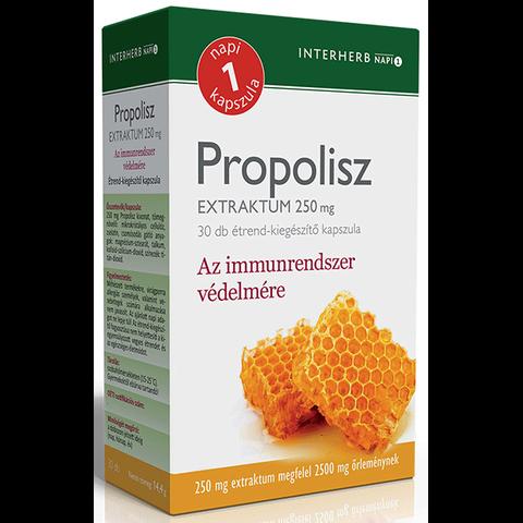 Interherb NAPI1 Propolisz Extraktum 250 mg 30db