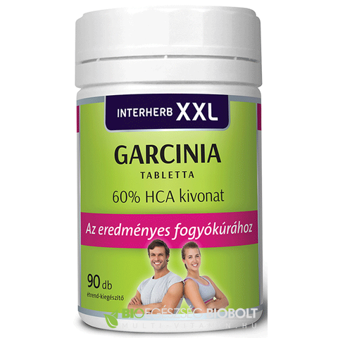 Interherb XXL Garcinia tabletta 90 db