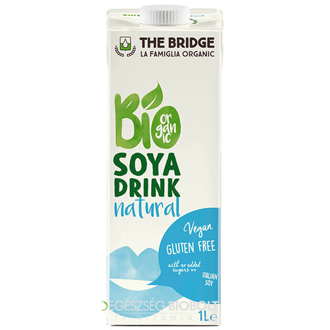 The Bridge Bio Natúr Szójaital 1000ml