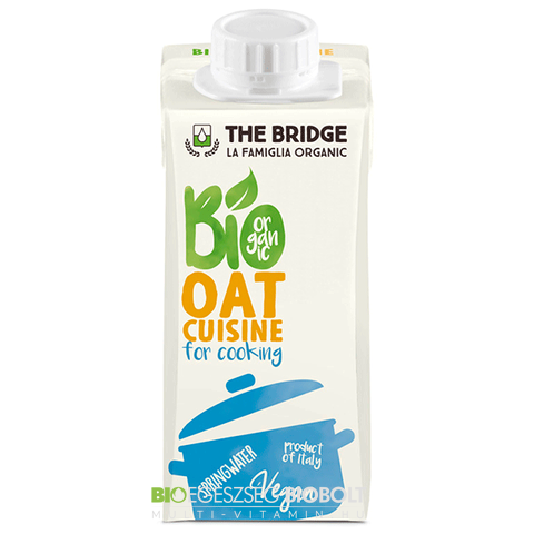 The Bridge Bio Zabkrém tejszín 200ml