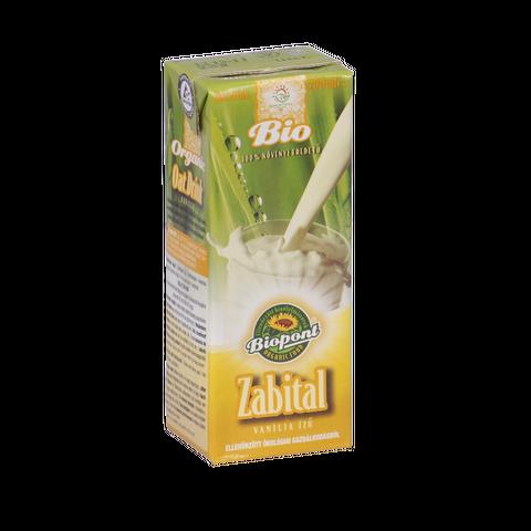 Bio zabital vaníliás 200ml Biopont