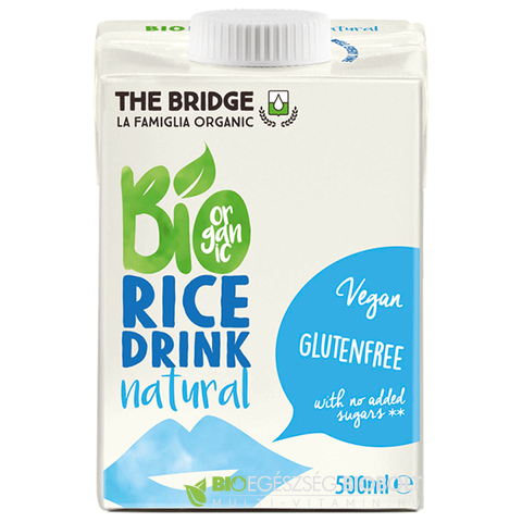 The Bridge Bio Rizsital natúr 500 ml