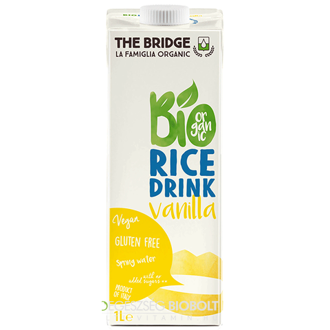 The Bridge Bio Vaníliás Rizsital 1000ml