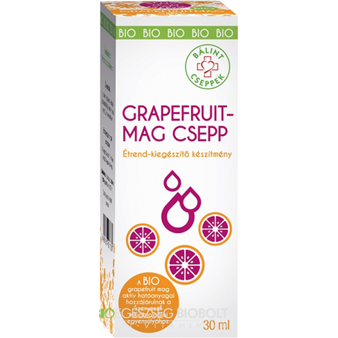 Bálint Bio Grapefruitmag csepp 30 ml