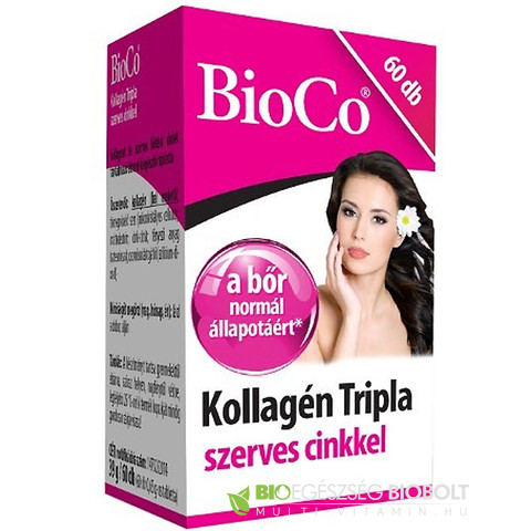 BioCO Kollagén tripla 60db 300mg