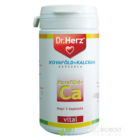 Dr. Herz Kovaföld-kalcium kapszula 60db