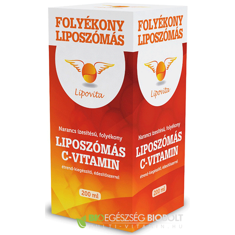 Lipovita folyékony liposzómás C-vitamin 200 ml