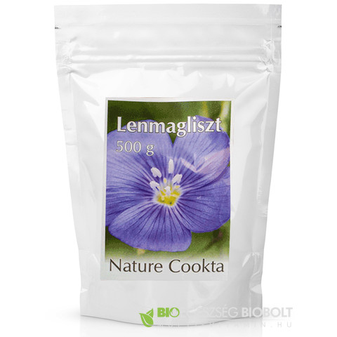 Lenmagliszt 500 g (Nature Cookta)