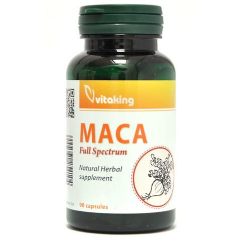 Maca gyökér 500 mg kapszla 90 db (Vitaking)