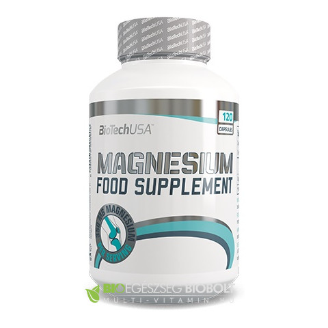 Magnesium 350mg kapszula 120 db BioTech USA