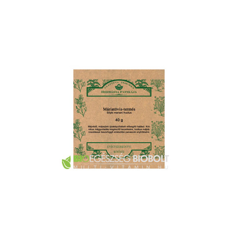 Máriatövistermés tea 40 g Herbária