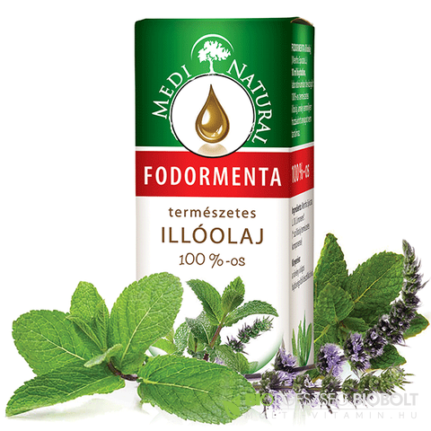 MediNatural fodormenta illóolaj 10 ml
