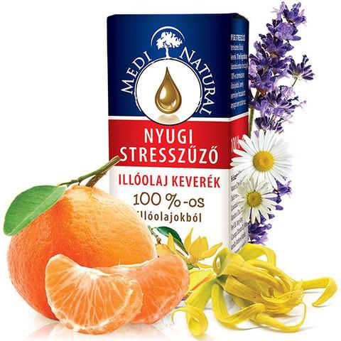 MediNatural nyugi stresszűző illóolaj 10 ml
