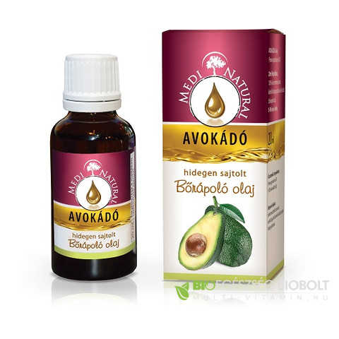 MediNatural avokádó olaj 20 ml