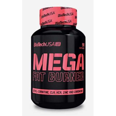 Mega Fat Burner tabletta 90 db BioTech USA