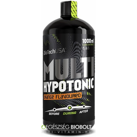 Multi Hypotonic Drink 1000 ml Narancsos (BioTech USA)