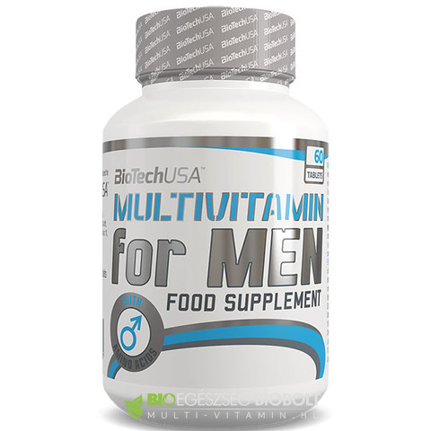 BT Multivitamin for Men tabletta 60db