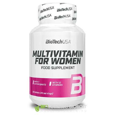 BT Multivitamin for Women tabletta 60db