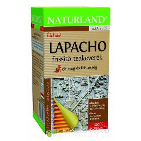 Naturland Lapacho frissítő teakeverék 20 db