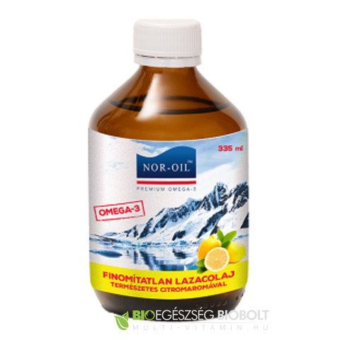 Nor-Oil Omega-3 Citromos Lazacolaj 335ml