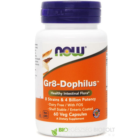 Now GR8 Dophilus-Enteric kapszula 60db