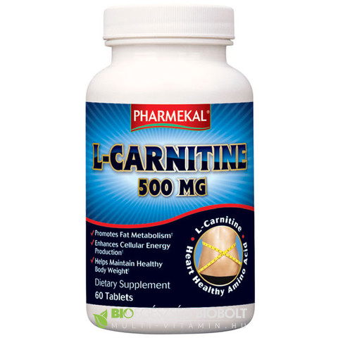 NV L-Karnitin tabletta 60db 500mg (Ph)