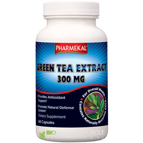 NV Green Extract Zöld Tea kivonat 60db 300mg (Ph)