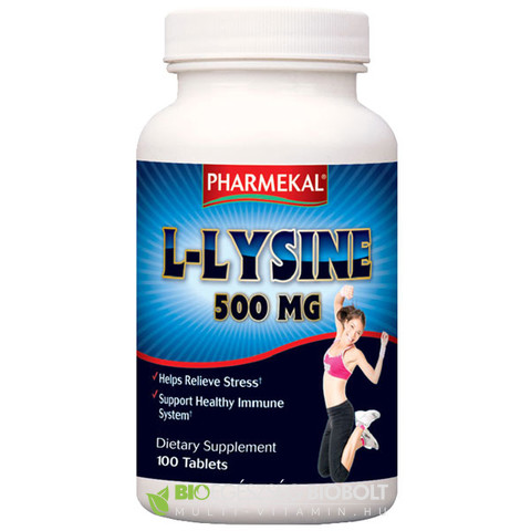 NV L- Lysine 500mg 100db (Ph)