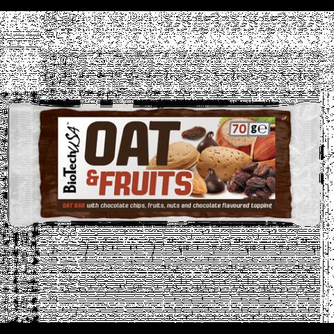 Oat és Fruits mazsola mogyoró 70g (BioTech USA)