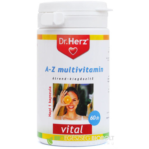 Dr.Herz A-Z multivitamin 60db