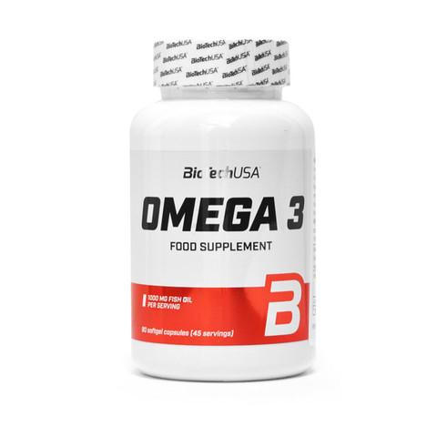 Omega 3 kapszula 90 db BioTech USA