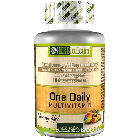 Herbioticum One Daily Multivitamin 60db
