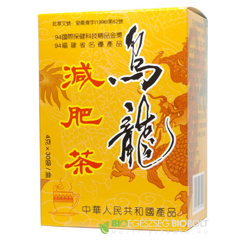Oolong Anti adiposis tea 4 g x 30 filter (Dr. Chen)
