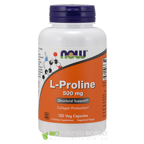 Now L-Proline 120db 500mg